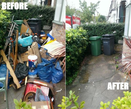rubbish clearance nunhead